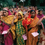 Women Borrowers Saluting